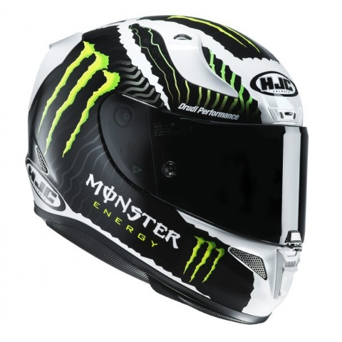 CASCO INTEGRALE HJC RPHA11 MILITARY WHITE SAND